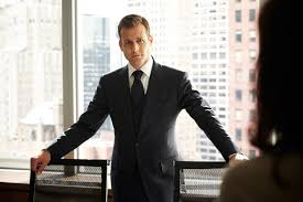 suits harvey specter office. Monochromatic Three Piece Suit Suits Harvey Specter Office