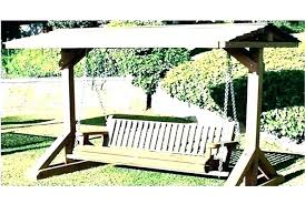 porch swings with frame wood plans wooden lawn swing stunning build a porch swings