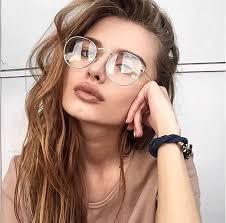 Vrouw bril