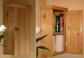 pine corner wall cabinet bathroom kitchen