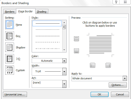 Free Page Border Templates For Microsoft Word Fascinating Definition Of Adding A Page Border Chegg