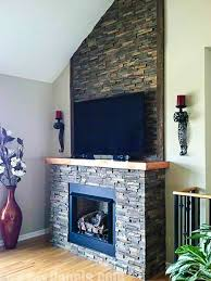 faux stone fireplace 50 best design ideas fireplaces images on