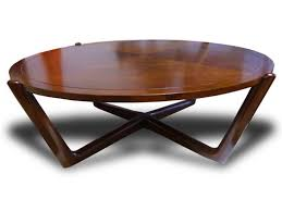 low round coffee table modern