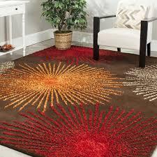 2018 burnt orange area rug 50 photos home improvement burnt orange area rug safavieh soho brown handmade area rug