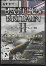 item 2 battle of britain ii 2 wings of victory pc cd rom game ltd edition new sealed battle of britain ii 2 wings of victory pc cd rom game ltd edition
