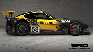 Ginetta Design Dam Sponsors Peter Bassill Racing Ginetta Gt4 Supercup