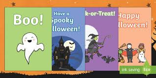 Halloween Gift Cards Halloween Gift Card Template