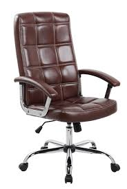 office chairs brown leather. Inspiring Executive Office Chairs US 140 37 United Chair High Back Brown PU Leather