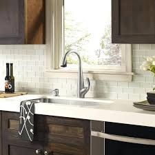 white glass tile white glass tile white with dark white subway tile kitchen grout color white