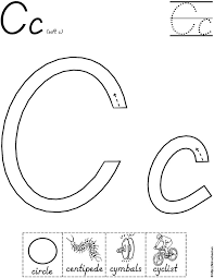 Preschool Letter C Worksheets - Checks Worksheet