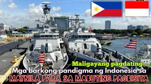 Indonesian Navy warships in Manila for ...