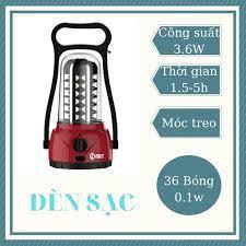 Đèn tích điện | đèn sạc Comet CM8517 có móc treo chính hãng