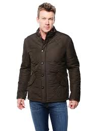 olive placeholder barbour men s powell quilted jacket