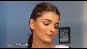 photoshoot makeup tutorial by omayr waqar