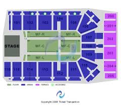 Iowa Event Center Seating Chart Tyson Events Center Gateway Arena Tickets And Tyson Events