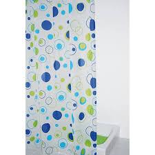 <b>Штора для ванны Ridder</b> Kreise 200х180 синяя купить за 797 руб ...