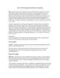 Career Objective Resume Objectives Employment Education Skills