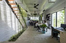 green office interior. Ho Khue Architects Modern Village Office « Inhabitat \u2013 Green Design, Innovation, Architecture, Building Interior D