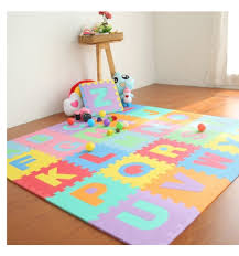 product details of baby kids play mat alphabet puzzle diy toy 26pcs
