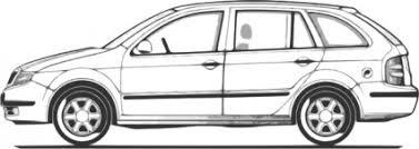 車 無料素材イラストベクターのフリーデザイナー
