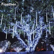 How To Plug In All Christmas Lights Eu Us Plug Multi Color 30cm Meteor Shower Rain Tubes Led