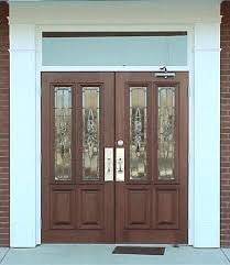 commercial exterior double doors. Commercial Front Doors Double Glass . Exterior