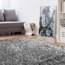 electric ave silver 9 ft x 12 ft area rug