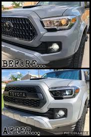Tacoma Grill Lights Install 2019 Tacoma Lights And Grille Changed Toyota Tacoma
