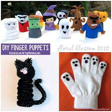 fun diy finger puppets that make a fun not so scary