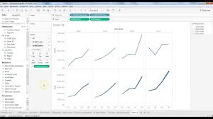 Tableau Tutorial 26 How To Create Discrete Line Chart In Tableau Tableau Discrete Line Chart