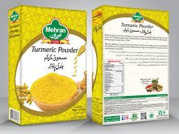 Turmeric Powder Packaging Design Mehran Food