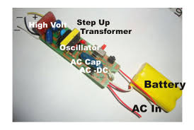 mosquito swatter electronics hobby mosquito swatter circuit