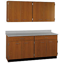wall cabinets for office. Fine Office Two Drawer Eight Door Wall And Base Cabinet Set  60 Throughout Cabinets For Office F