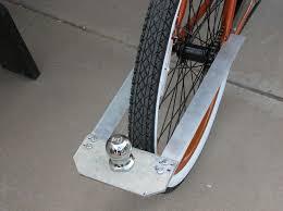 bike trailer hitch bike