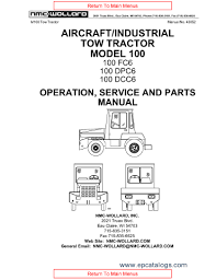 nmc wollard aircraft tractor m100 repair manual heavy technics enlarge repair manual nmc wollard aircraft tractor m100 2 enlarge