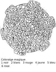 Animaux Coloriage Magique Difficile Coloriage Magique Difficile