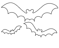 Small Picture Halloween Bats Coloring Pages Printable Bat Coloring Page Coloring