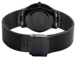 skagen men s 233ltmn titanium black mesh watch bossman watches skagen men s 233ltmn titanium black mesh watch