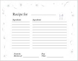 Recipe Template Word Recipe Templates For Pages Beautiful Receipt Template