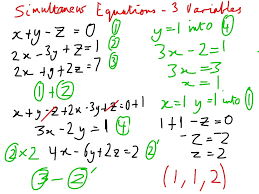 exciting showme solve systems of linear equations in three variables simultaneous solver lastthumb full size