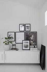 black picture frames wall. Plain Black Monochrome Picture Wall With Black Frames Fro Elisabeth Heier For Black Picture Frames Wall