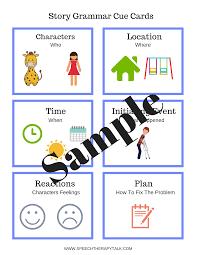 Story Grammar Narrative Structure Know It Love It Teach It