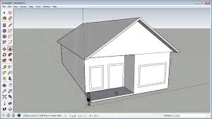 sketchup fast 3d house tutorial basic you how to make