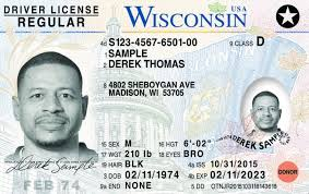 Wisconsin Out New Id Licenses Driver's To Roll Cards
