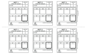 15 Volleyball Lineup Sheets Printable Payroll Slip