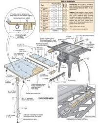 15 Free Table Saw Outfeed Plans: Mobile Tables, Folding Tables, Outfeed  Stands and