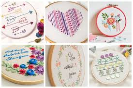 Hand Embroidery Patterns Delectable 48 Easy Hand Embroidery Patterns Perfect For Gift Giving Ideal Me