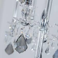 unique spotlight designer italian crystal chandelier with smokey drops
