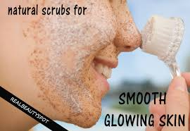 best 5 homemade natural scrubs for smooth glowing skin