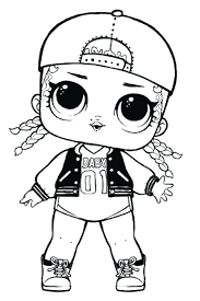 Swag Doll Coloring Page Surprise Pages Printable Dolls Lol Series 3